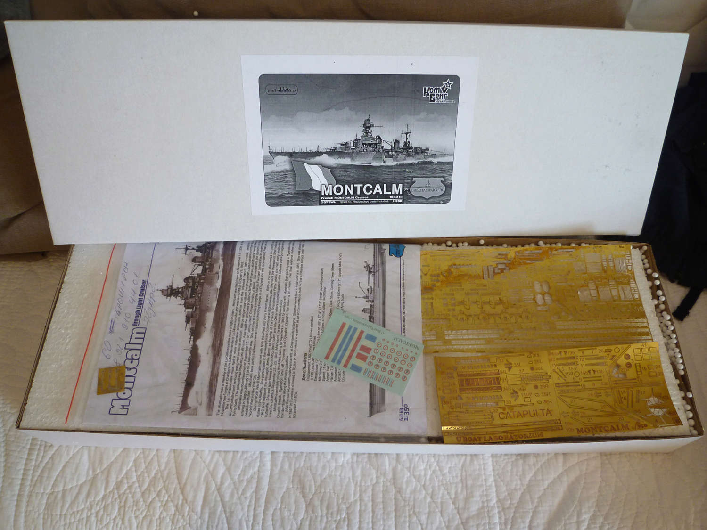 Montcalm, 1940, 1/350 Montca11