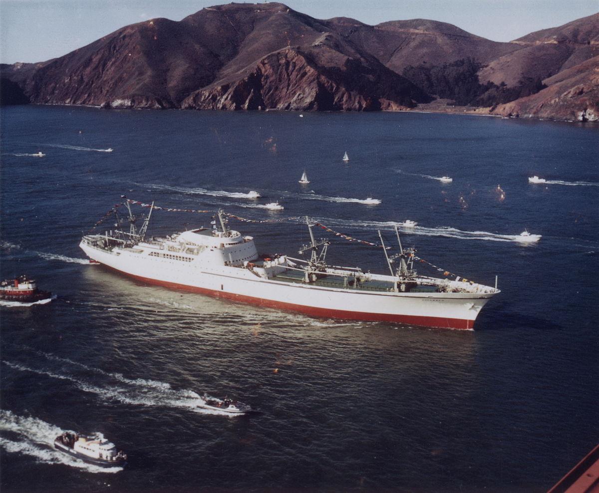 Cargo mixte nucléaire NS Savannah, cargo Hawaiian Pilot Nssava10