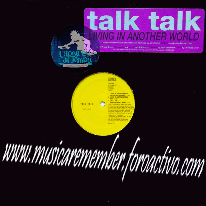 Talk Talk - Living In Another World  (US 12'' Promo)[1991] Fronta16