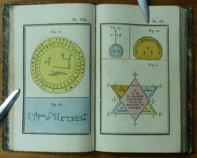 Alphabet thébain - Etudes des écritures dites magiques ainsi que leurs origines possibles I 51864b11