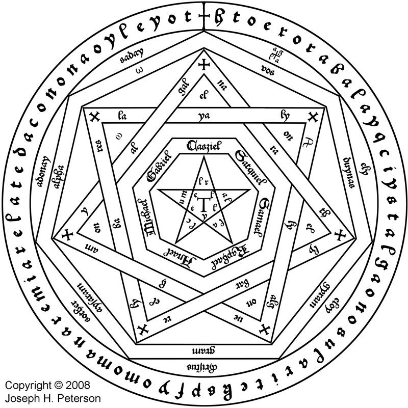 Alphabet thébain - Etudes des écritures dites magiques ainsi que leurs origines possibles I Aemeth11