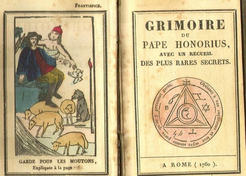 Alphabet thébain - Etudes des écritures dites magiques ainsi que leurs origines possibles I Honori10