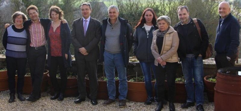 Des élus ruraux unis mais pas encore prêts à fusionner leurs communes Les-el10