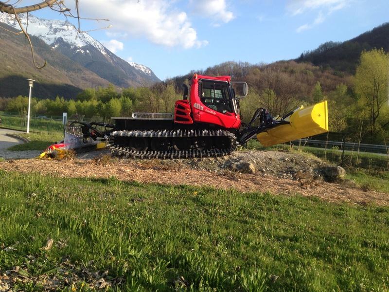 Pistenbully à Tours en Savoie - Kässbohrer ESE Img_5819