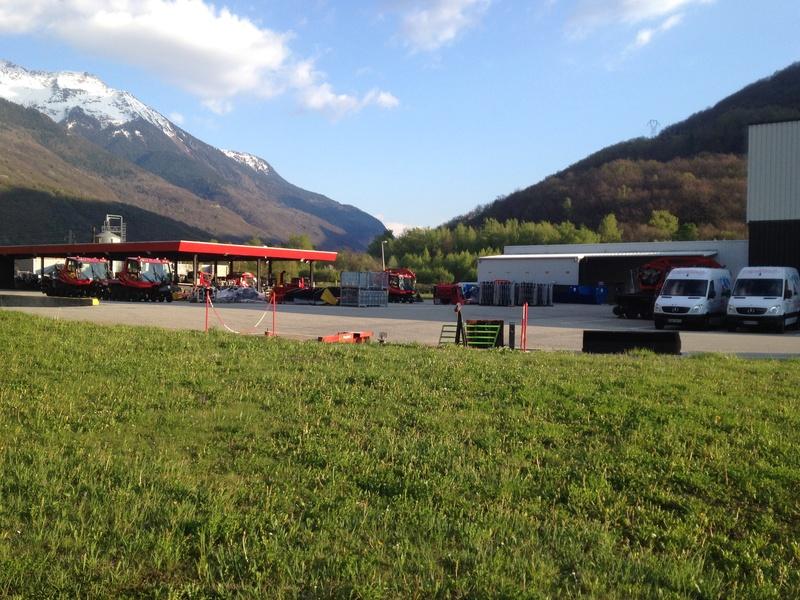 Pistenbully à Tours en Savoie - Kässbohrer ESE Img_5821