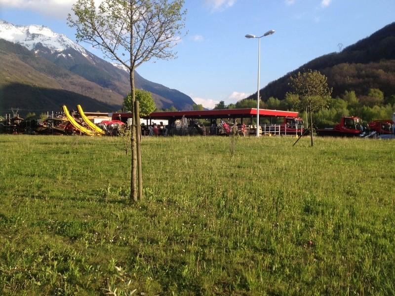 Pistenbully à Tours en Savoie - Kässbohrer ESE Img_5823