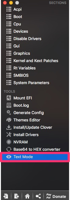 Clover Configurator Textmo10