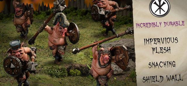 "Nouvelle faction hordes ""GRYMKIN"" Cavale10"
