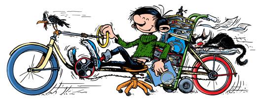 Le vélo sur Google aujourd'hui page d'accueil ! Vélotification  Andre-10