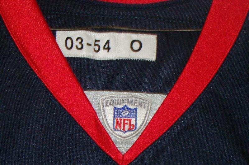 Sam Adams 2003 Game Worn Jersey Tag10
