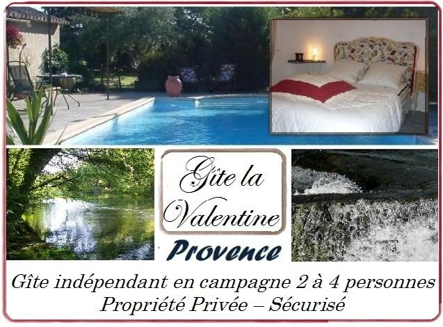 Gîte La Valentine, location Provence avec piscine, 84370 Bedarrides (Vaucluse) Gite_l11