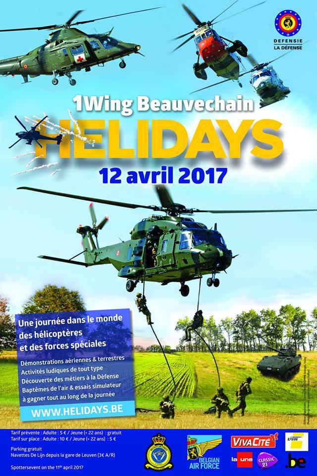DEBRIEFING Belgian Heli days  11/12 avril 2017 16864510