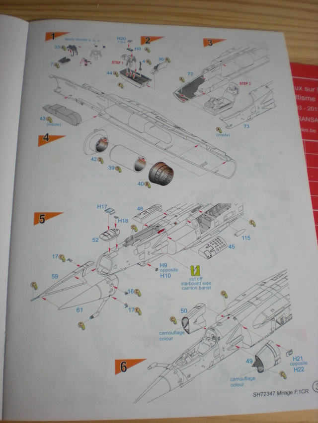 Mirage f.1 cr - special hobby 1/72 Dscn9711