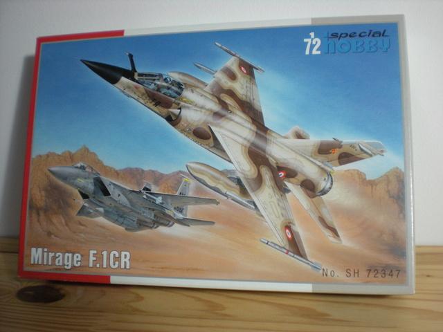 Mirage f.1 cr - special hobby 1/72 Dscn9712