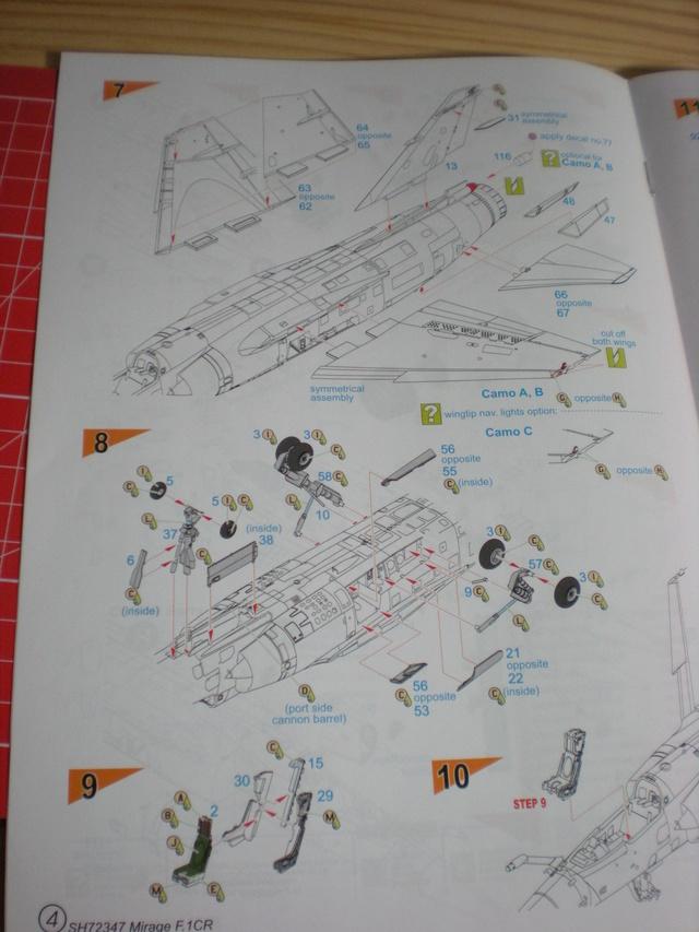 Mirage f.1 cr - special hobby 1/72 Dscn9713