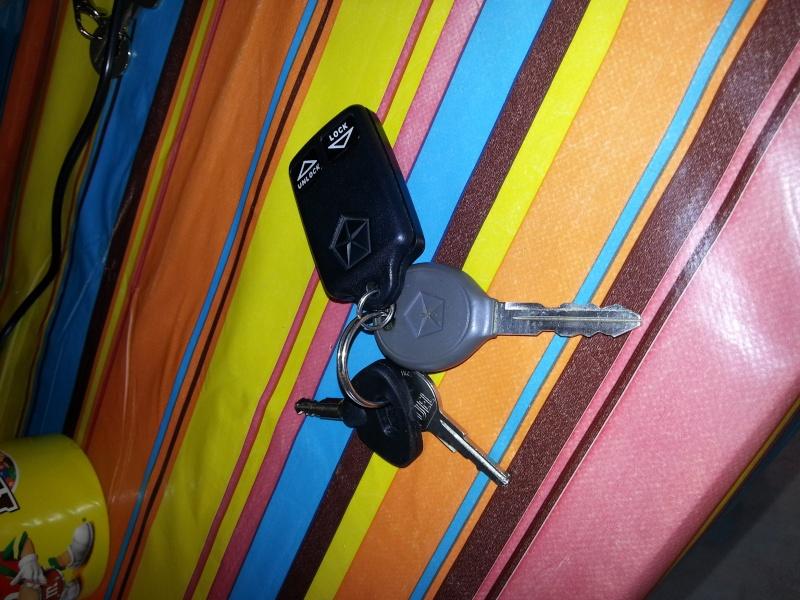 Changement de clef suite au vol de la voiture 20140313