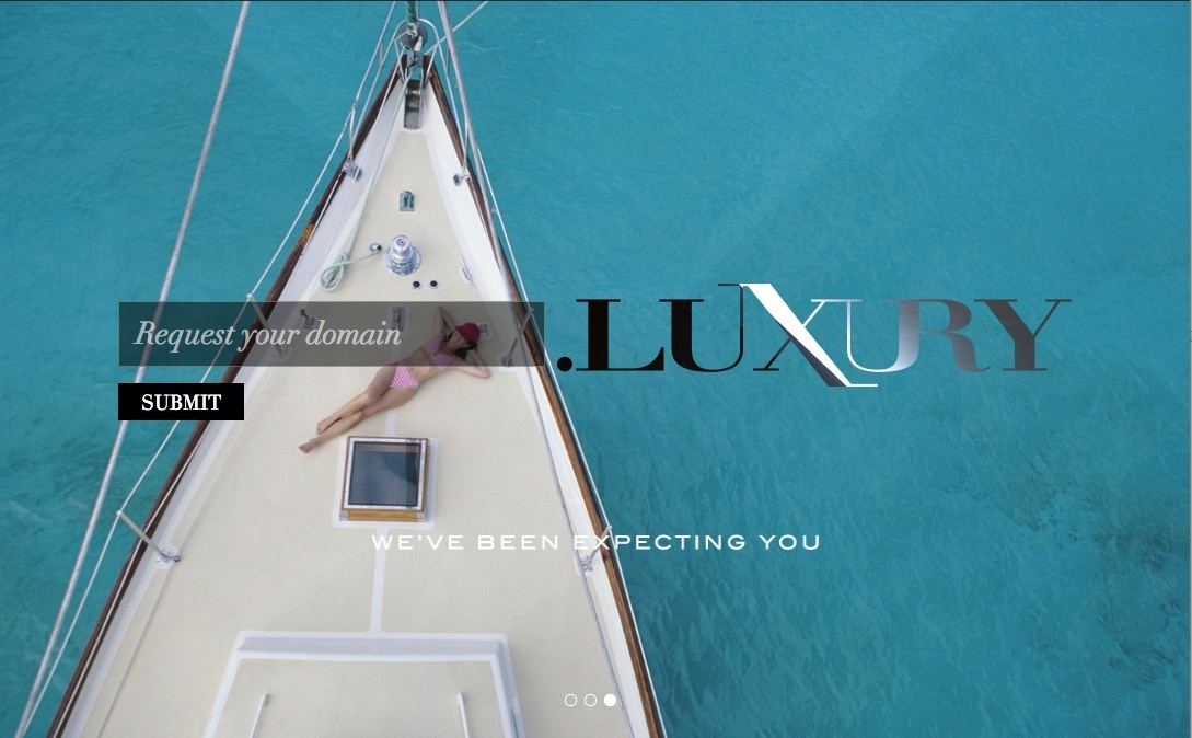 Information about .luxury Screen14