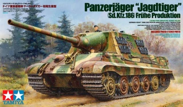 """Panzerjager """"Jagdtiger"""" Tamiya (marioandreoli) 12883810"""