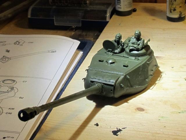 Carro armato sovieico JS 2 Stalin (marioandreoli) Img_3651