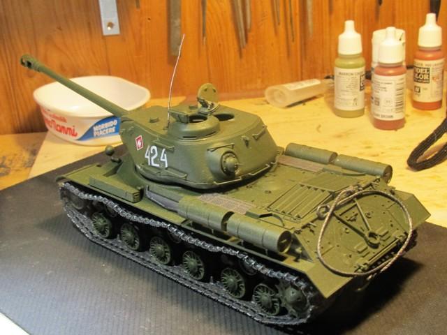 Carro armato sovieico JS 2 Stalin (marioandreoli) Img_3735
