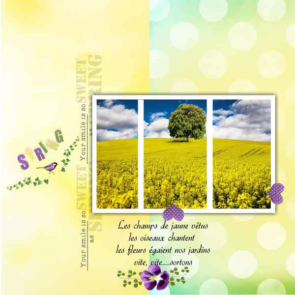 Scrap'arabe d'Avril 2017 | les pages 23_mam10