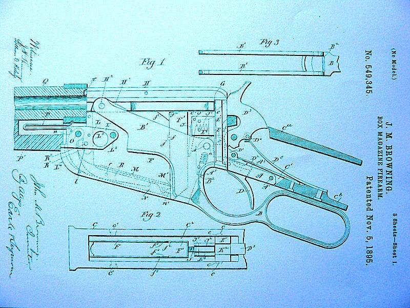 Brevets-éclatés Winchester 1895 - Années de fabrication. 1895_b11