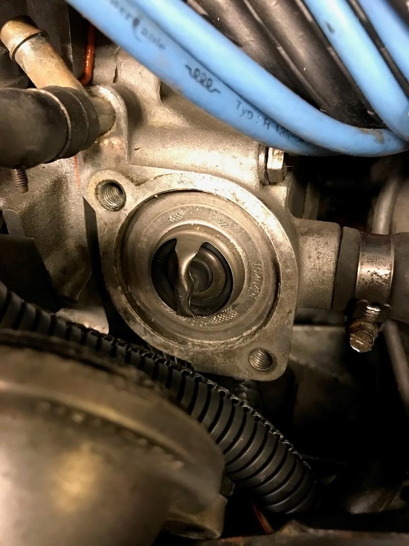 Changement du Carlostat / Thermostat d'eau 710