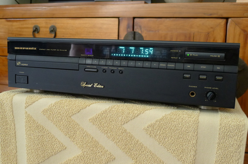 Marantz CD-72mk2 SE (Special Edition) CD Player (Used) SOLD P1130619