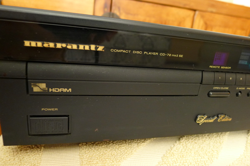 Marantz CD-72mk2 SE (Special Edition) CD Player (Used) SOLD P1130620