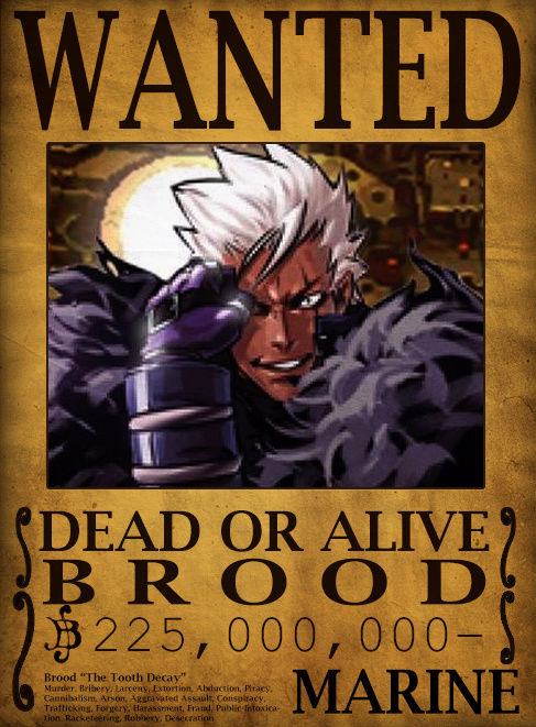 Wanted Poster Drawing Board Brood10