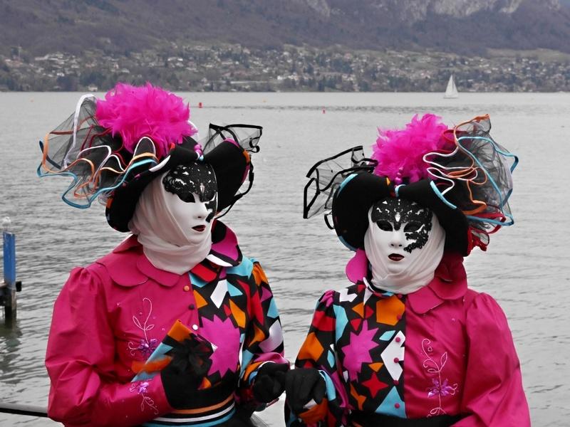 Sortie informelle Carnaval Vénitien ANNECY P1100712