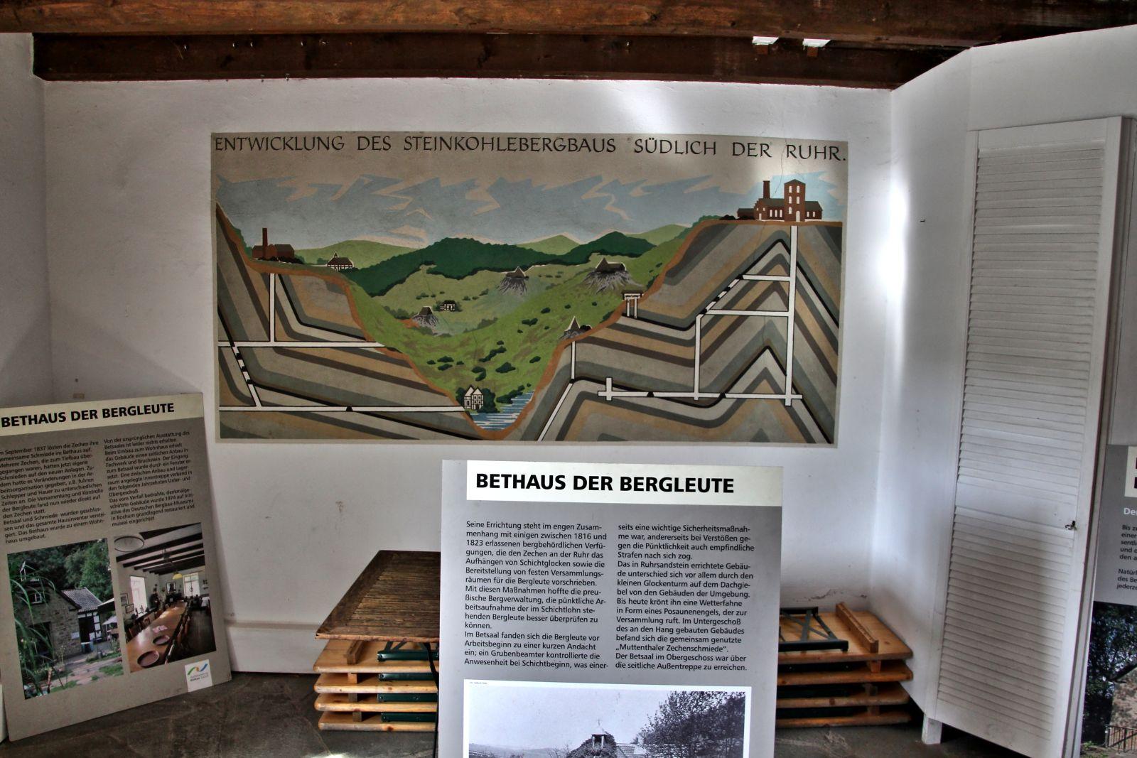 Bergbauwanderweg Muttental 1310