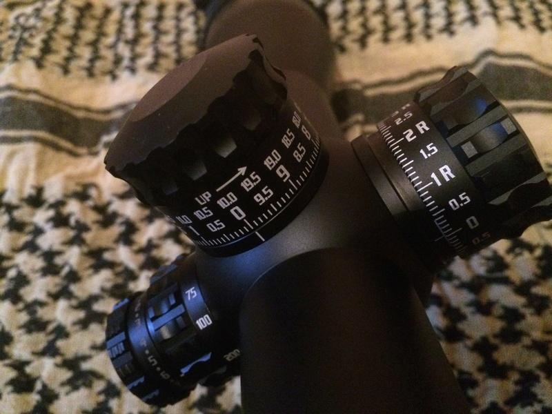 lunette burris XTRII  Img_0517