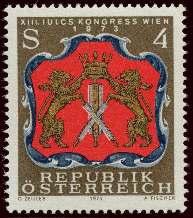 Österreich, Briefmarken der Jahre 1970 - 1974 - Seite 3 Ank_1419