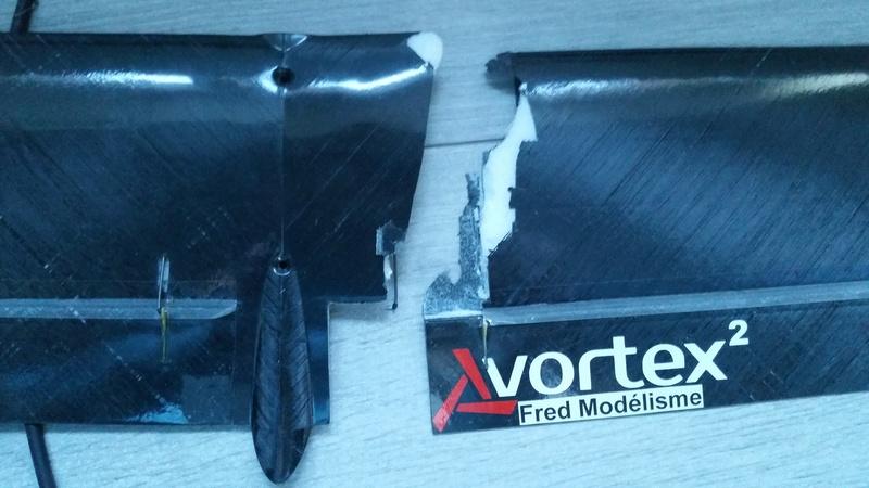 Réparation vortex 2 tout cassé  20170311