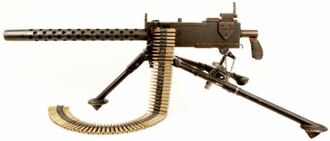 Histoire de mitrailleuses M1919a10