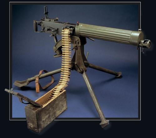 Histoire de mitrailleuses Vicker11
