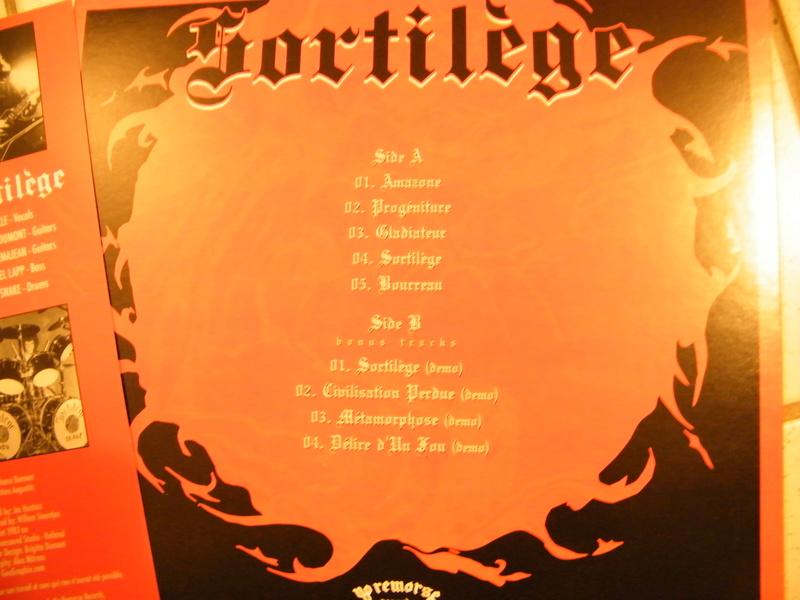 SORTILEGE chez No Remorse Records par Christophe Bailet ! Dscf5215