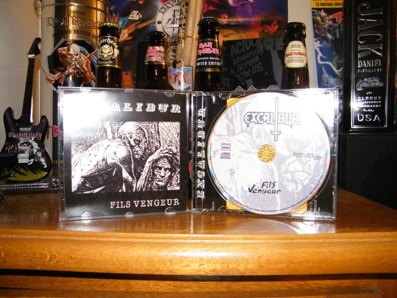 EXCALIBUR Fils Vengeur (1985) Heavy Metal/Speed France Dscf5317