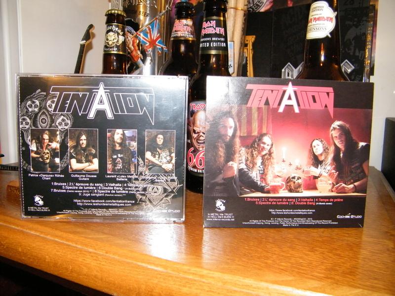 TENTATION 1er album (2015) Heavy Metal  Dscf5424