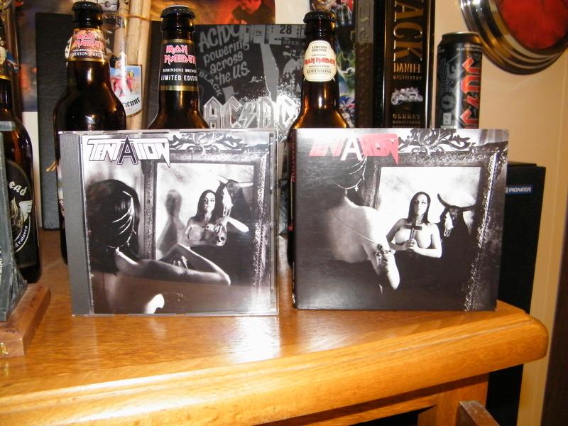 TENTATION 1er album (2015) Heavy Metal  Dscf5425