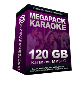 Mega Pack 32.000 Karaokes MP3+G 32-00010