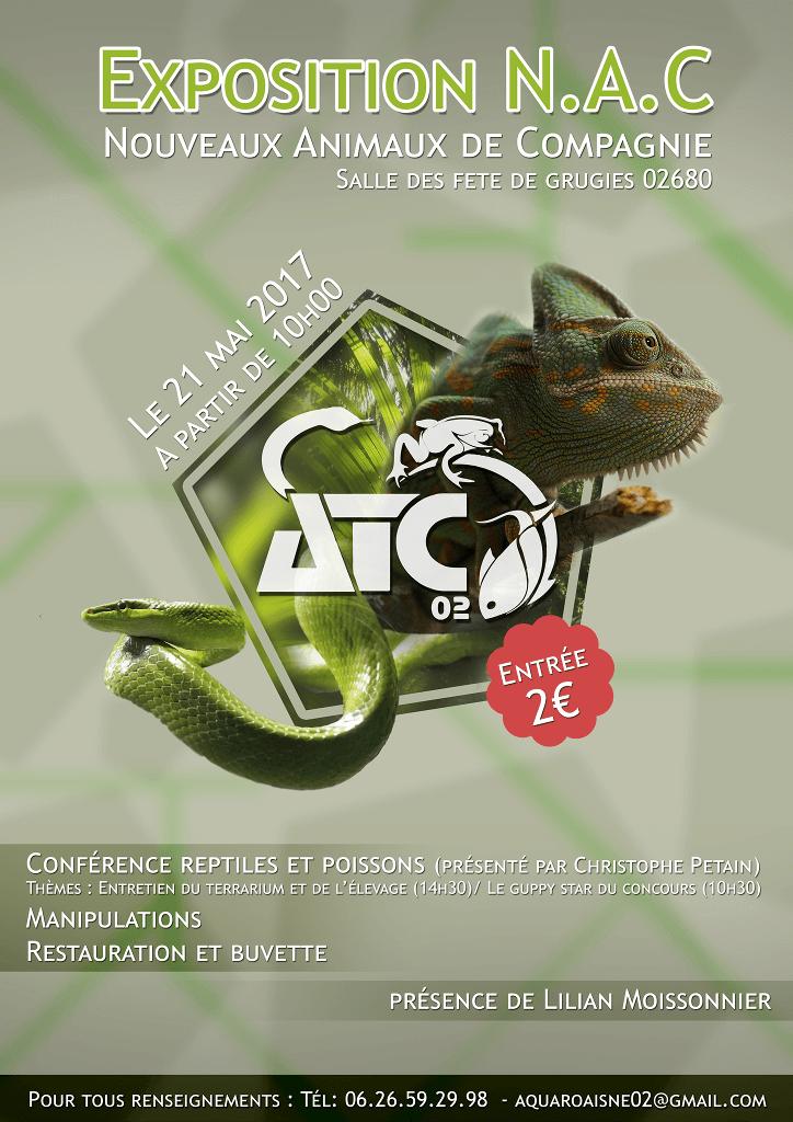Exposition Nouveaux Animaux de Compagnie à Grugies - le 21 mai 2017 2017_010