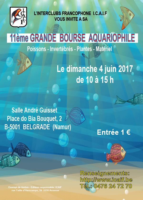 11ème bourse aquariophile de l'ICAIF à Namur - le 4 juin 2017 2017_011