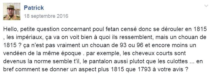 Le chouan de 1815 2010