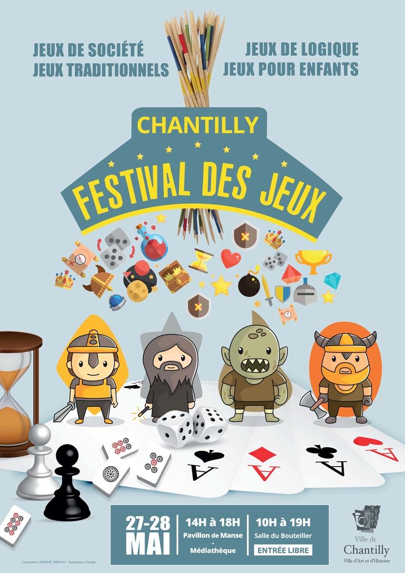 CHANTILLY - festival des Jeux les 27 et 28 mai 2017 Festiv10
