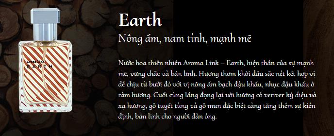 Nước hoa Aroma Link Earth – Khẳng định bản lĩnh đàn ông Aroma-10