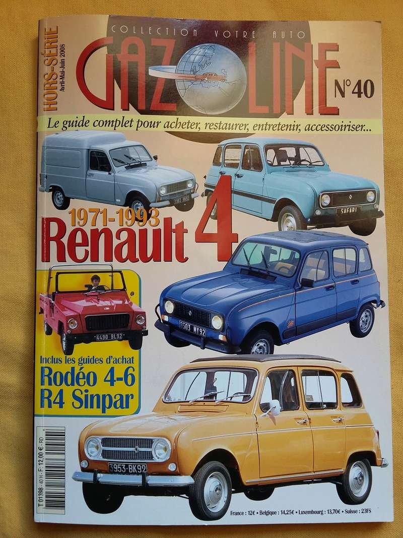 Renault 4L F4 20170467