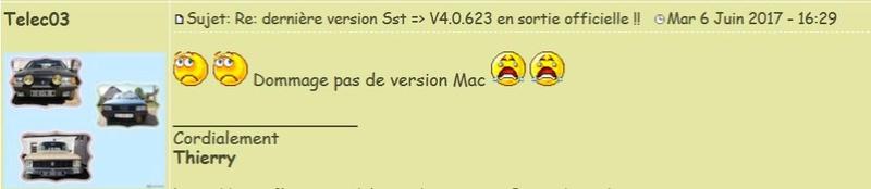 Comment importer (Windows + Mac) des éléments avec la version 4 ? Telec10