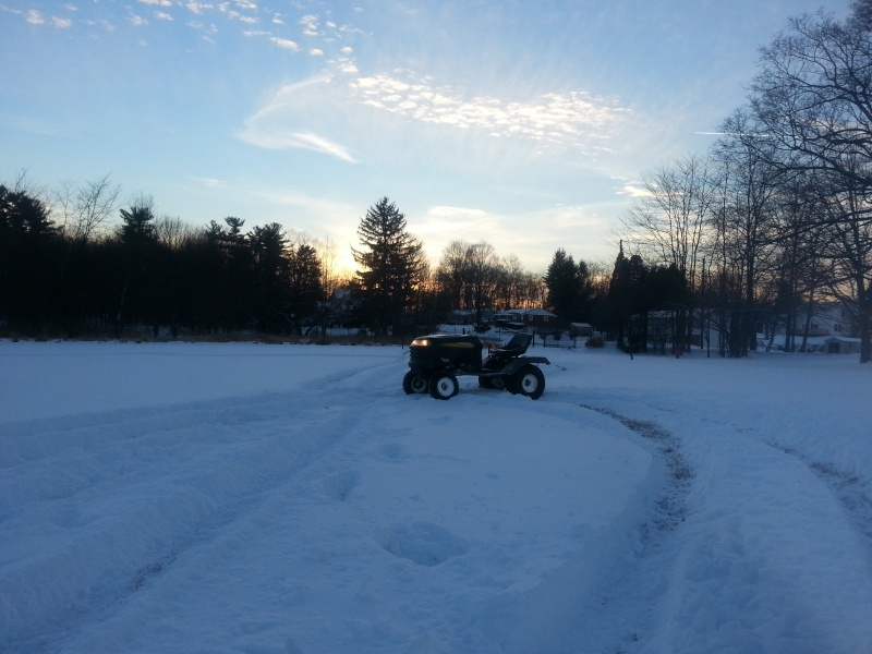 My Craftsman tractor + the build  20140113